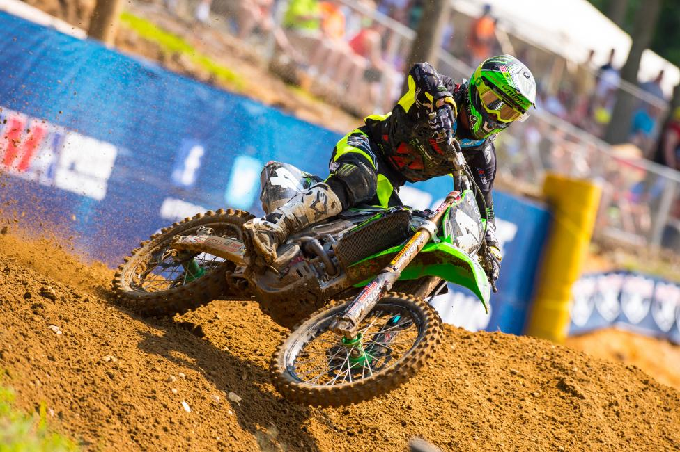 Blake Baggett won the overall over points leader Jeremy Martin, but only picked up one point.