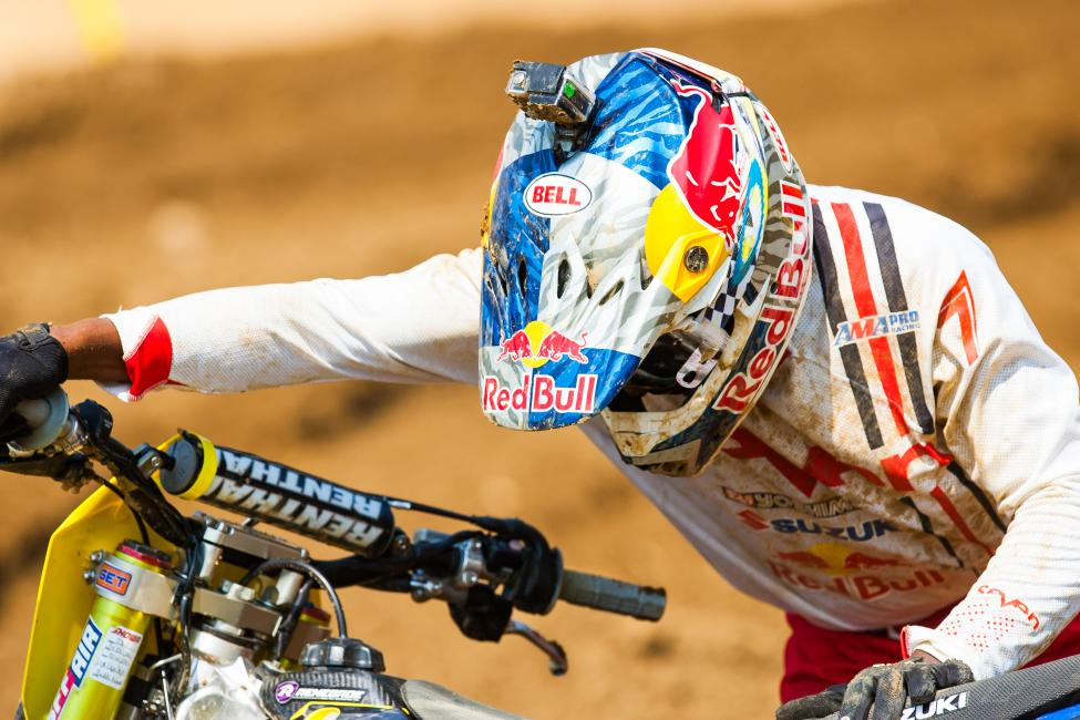 It was another tough day for James Stewart and Yoshimura Suzuki.