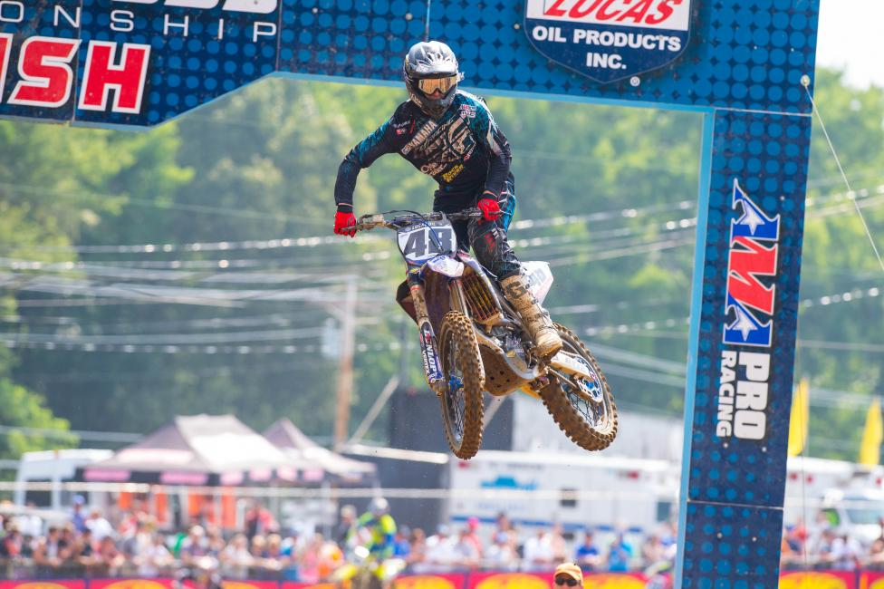 Ben LaMay has been a bright spot in the 450 Class recently.