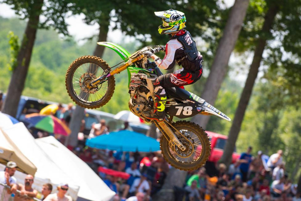 Matt Lemoine matched a season high at Budds Creek.  Photo: Simon Cudby