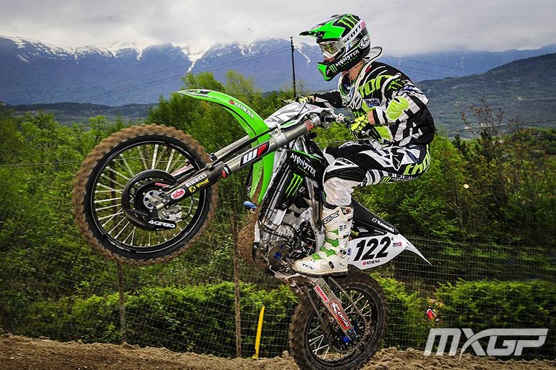Ferrandis has one moto win in 2014.  Photo: MXGP