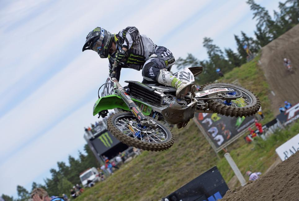 Ferrandis is currently fourth in MX2 Class. Photo: Monster Energy