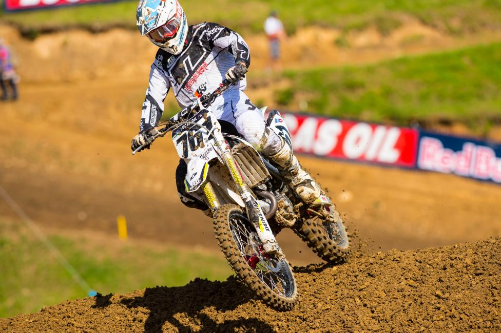Clason is currently 28th in 450 Class points.  Photo: Simon Cudby