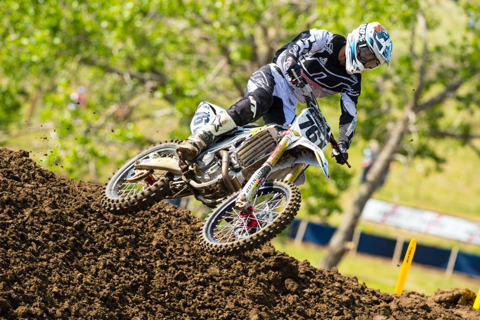 Clason has scored points in six motos this season.