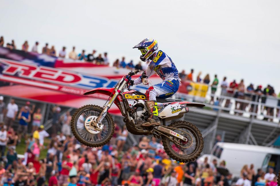 Justin Bogle led laps at RedBud and isn't afraid to fight for his position. He could win as soon as this weekend.
