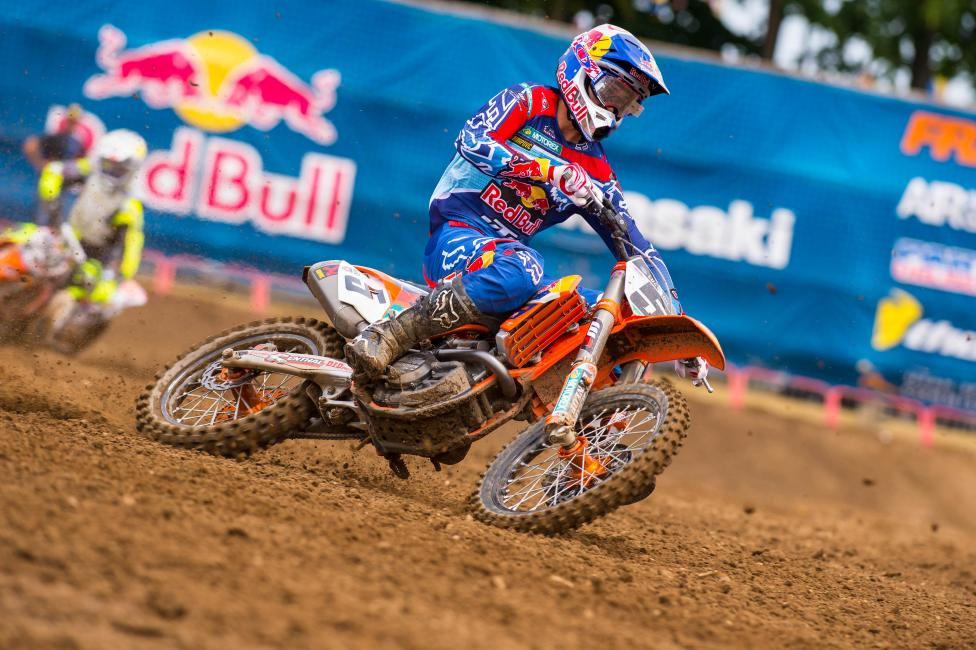 Ryan Dungey returns home this weekend.  Photo: Simon Cudby
