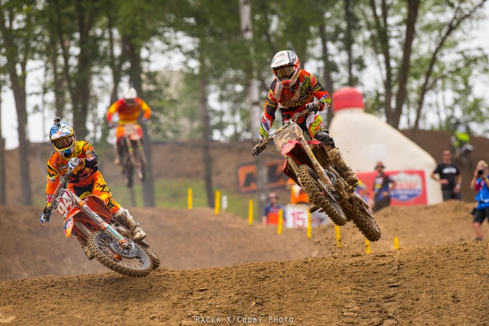Both riders put out fantastic efforts.Photo: Cudby