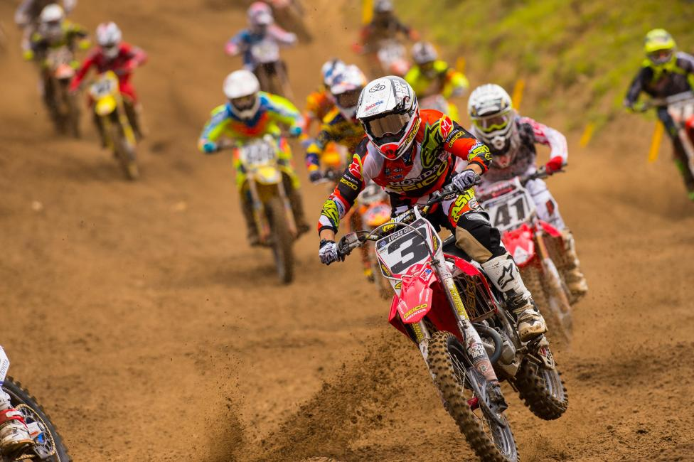 Eli Tomac went 1-1 at Millville to claim his first career 450 MX overall.