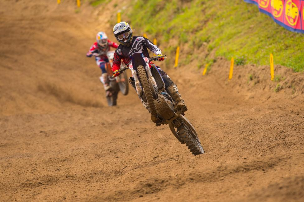 Jeremy Martin went 1-2 to capture the 250 Class overall. Photo: Simon Cudby