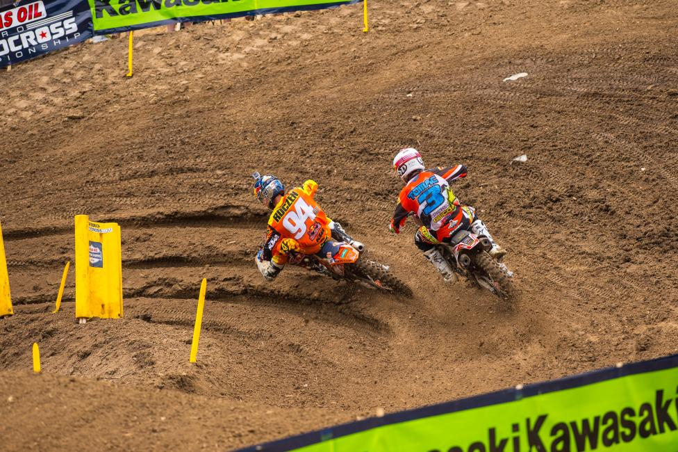 It hasn't taken long for Roczen or Tomac to step up and win 450 races.