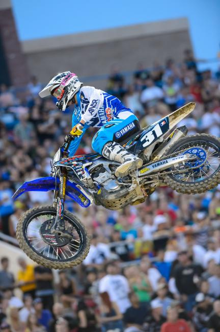 Baker retired at the end of the 2013 supercross season. Photo: Simon Cudby