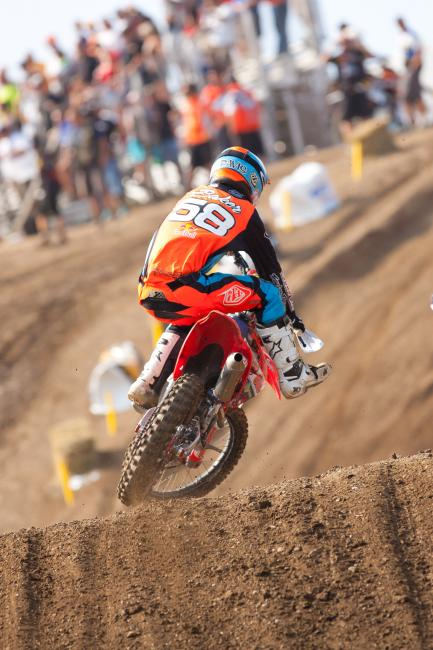 Baker was a top ten rider during his time with TLD.
