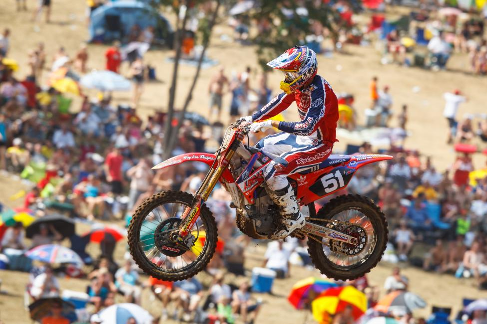 Baker rode for TLD Honda for two years.