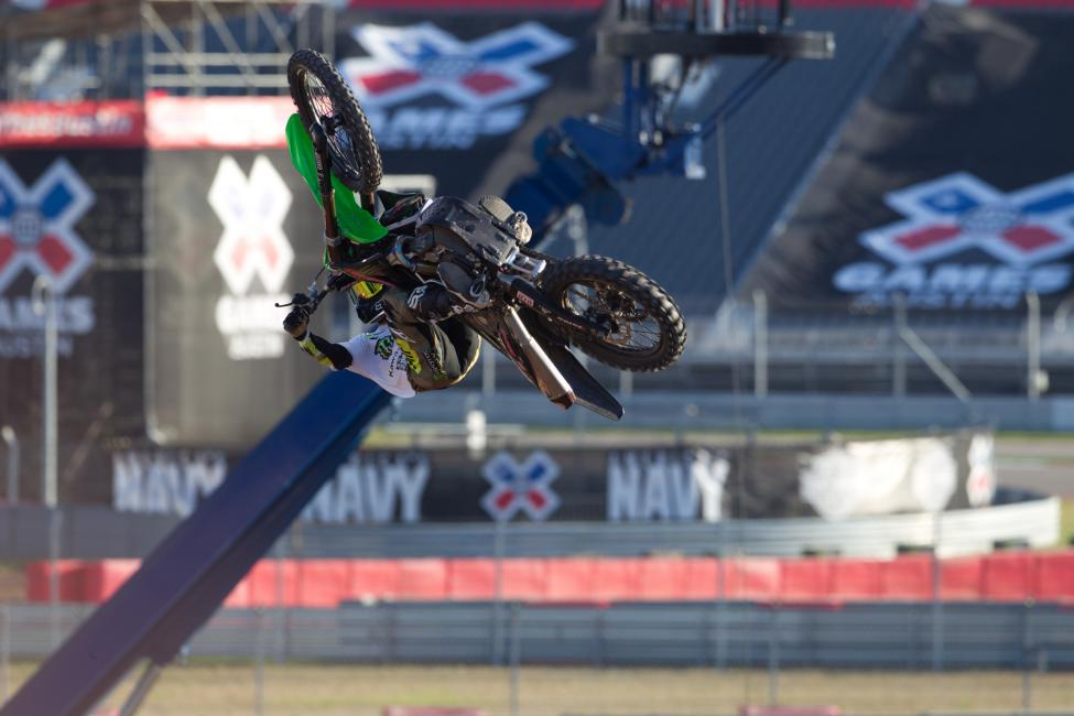 X Games are still a big part of Hansen's program.  Photo: Monster Energy