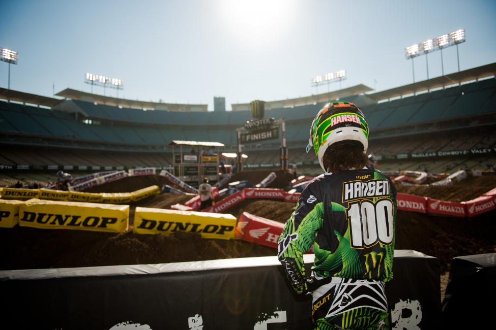 Is Josh Hansen coming back for 2015?  Photo: Monster Energy