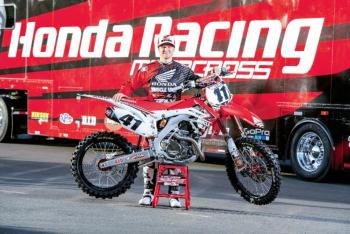 Win a Brand New 2014 Honda CRF450R