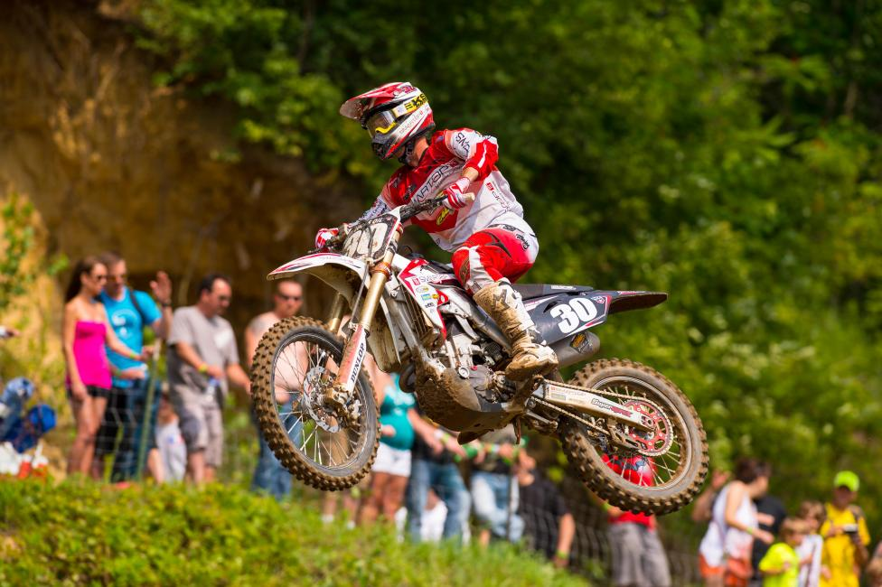Kyle Cunningham hopes to return at Unadilla.  Photo: Simon Cudby