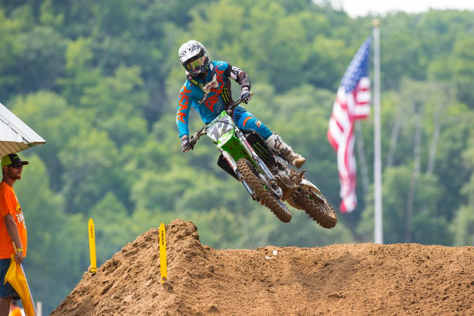 Jake Weimer has been ruled out for this weekend at Washougal.  Photo: Simon Cudby