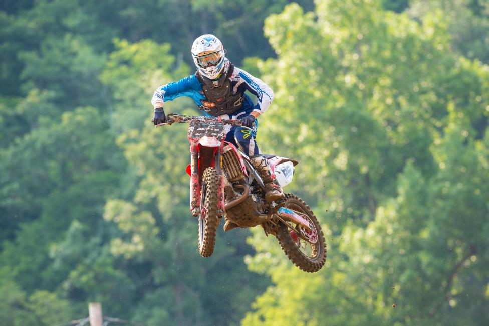 Oldenburg went 16-12 for twelfth overall at Spring Creek. Photo: Simon Cudby