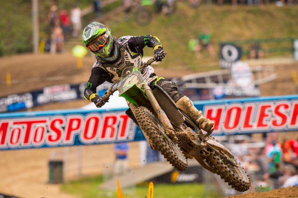 Blake Baggett's title chances were hurt with a DNF last weekend.
