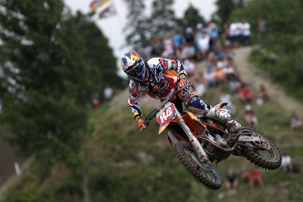 Jeffrey Herlings broke his femur earlier this week.  Photo: Ray Archer