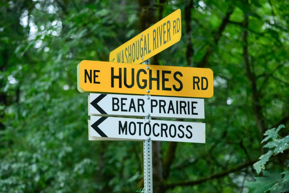 If you're at Washougl this weekend, make sure to go to the motocross track, not the bear prairie. You can thank us later.