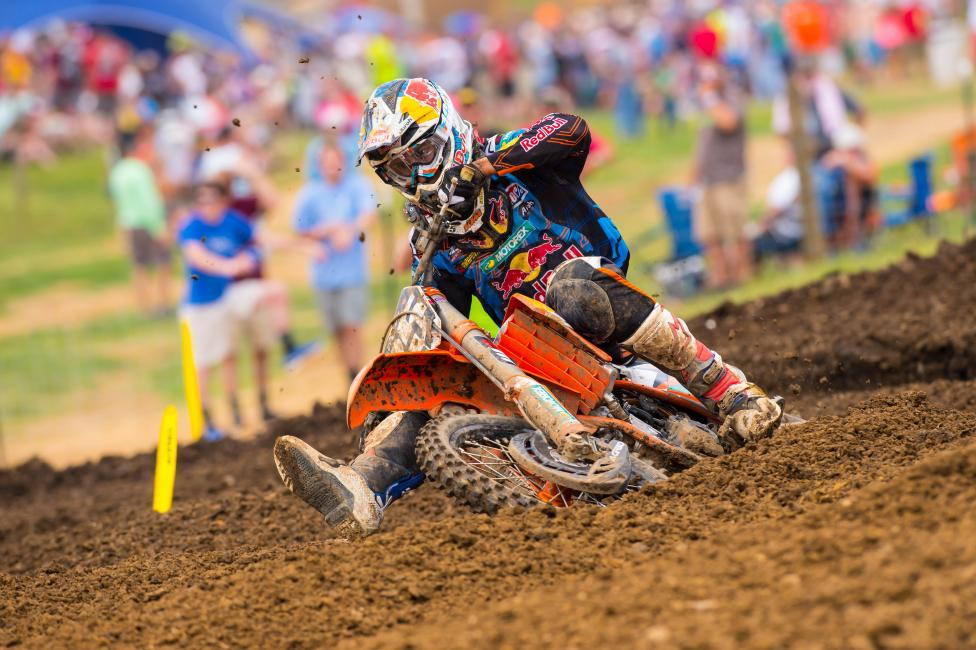 """""""I'm sure he's going to be really good, at least on the podium, and it will be interesting to see."""" - Marvin Musquin before Jeffrey Herlings injuryPhoto: Simon Cudby"""