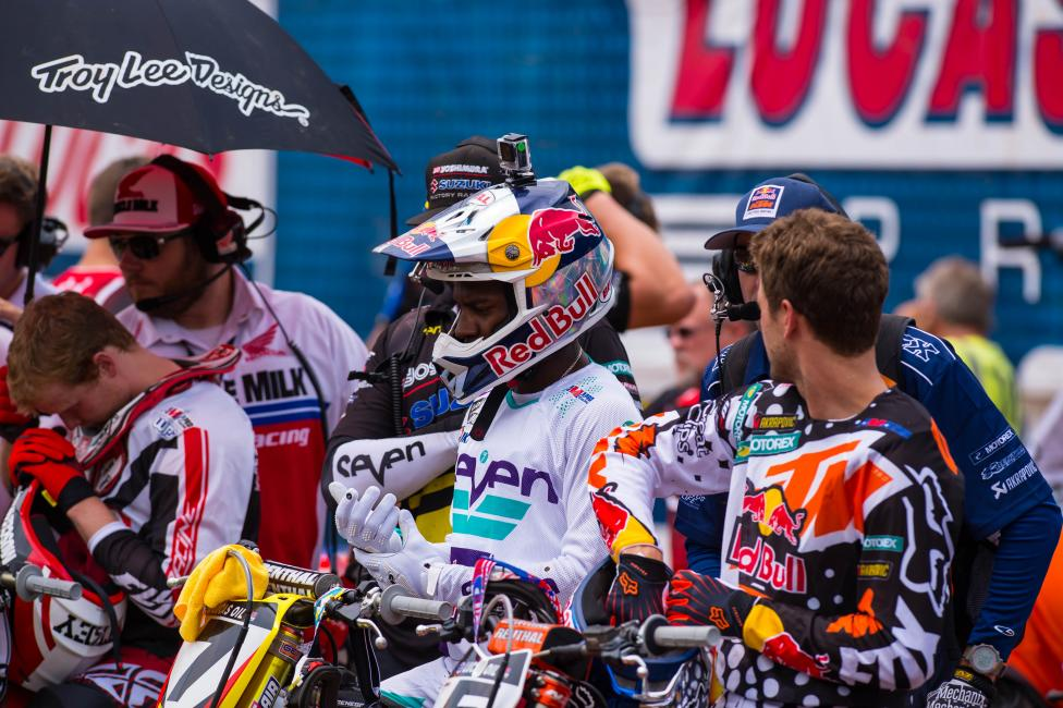 James Stewart will miss this weekend, but the team hopes to have him back at Unadilla.