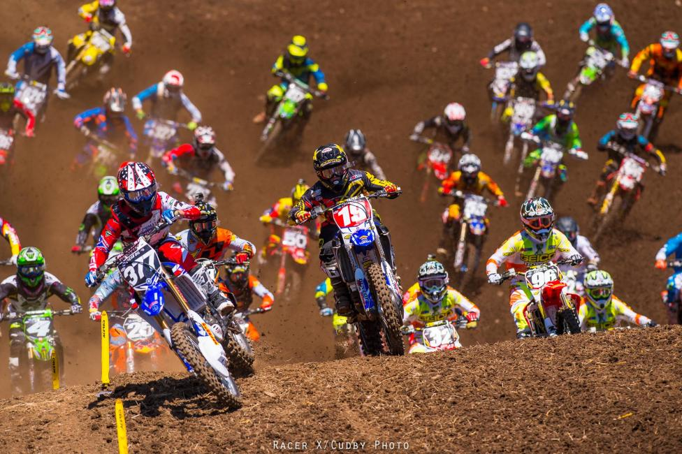 Pourcel holeshot both motos in Washougal, so there's that.Photo: Cudby