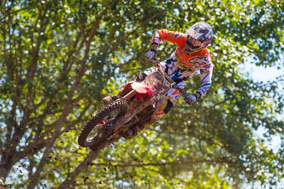 Eli Tomac was faster than Roczen in Washougal, but not as fast as Ryan Dungey, who was faster than both Tomac and Roczen. Got it? Good.Photo: Cudby