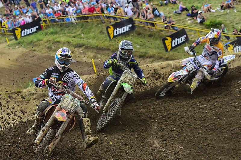 Jordi Tixier won the MX2 overall on Sunday.  Photo: MXGP