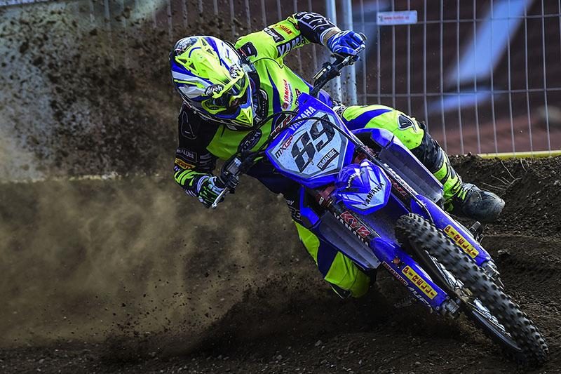 Jeremy Van Horebeek won his first overall in 2014 at Loket.  Photo: MXGP