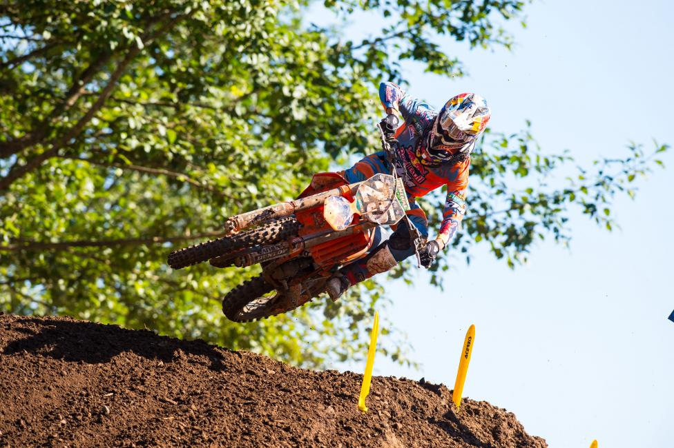 Marvin Musquin won his first 250 Class overall on the season at Washougal. Photo: Simon Cudby