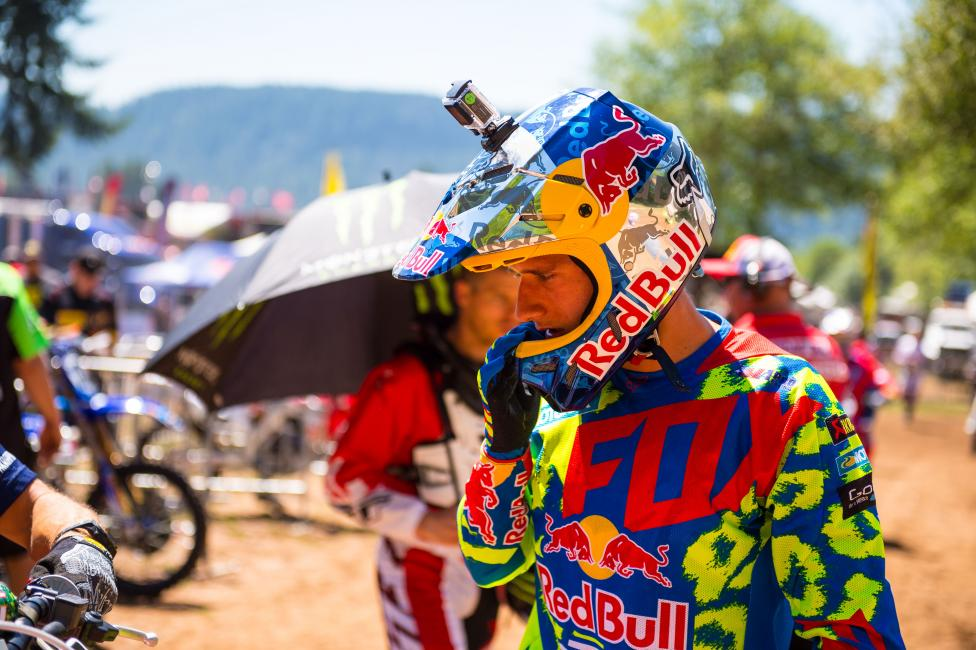 """Honestly, it's just a long season. It's basically my first time doing it that many races."" - Ken Roczen Photo: Simon Cudby"