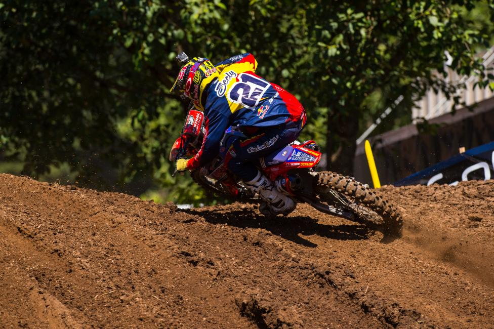 """it's just tough to swallow all those crashes. I'm looking for more speed and hopefully I can really come into the last three swinging."" - Cole Seely Photo: Simon Cudby"