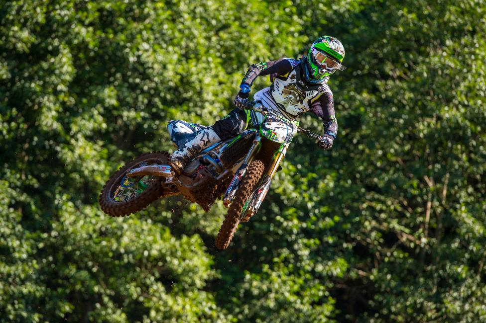 """Every week somebody's cheating; that's what they say. I got my results and I was like, I'll post them so that everybody knows that I'm not cheating and never was."" - Blake Baggett Photo: Simon Cudby"