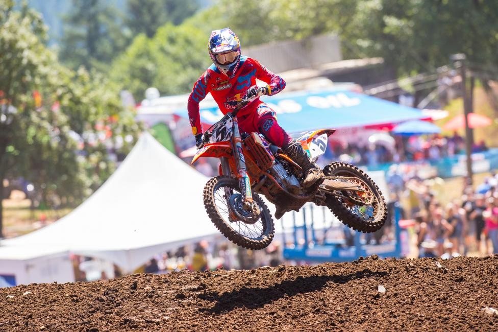 Ryan Dungey has won seven of the last ten motos at Washougal.  Photo: Simon Cudby