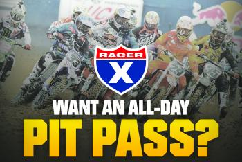 Racer X All-Day Pit Pass at Unadilla