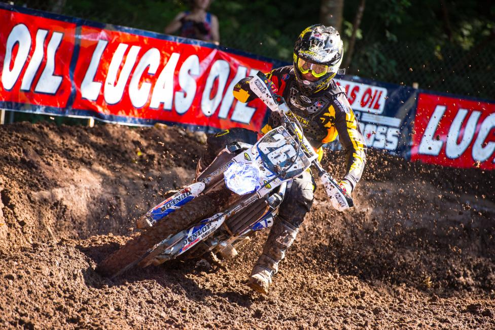 Anthony Rodriguez missed Washougal following a crash in practice. Photo: Simon Cudby