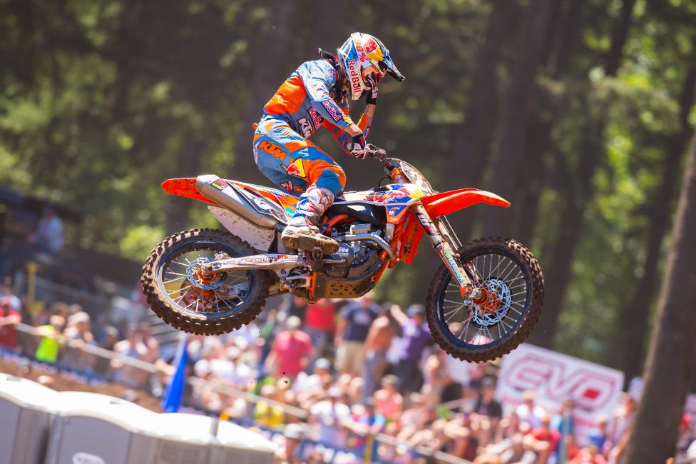 Musquin seems to finally be in championship form after recovering from injury.Photo: Simon Cudby