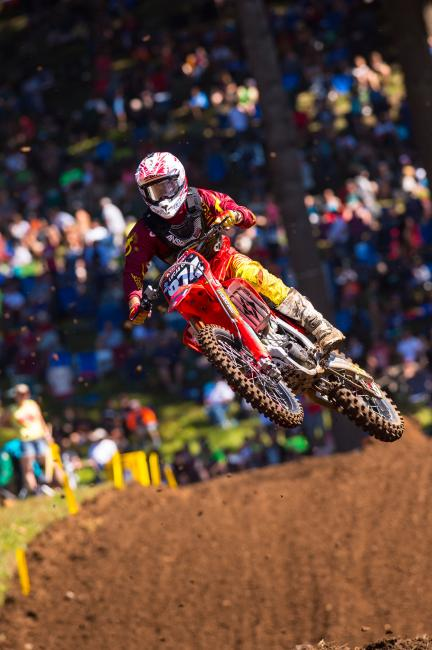 Williams earned the Top Privateer award at Washougal.
