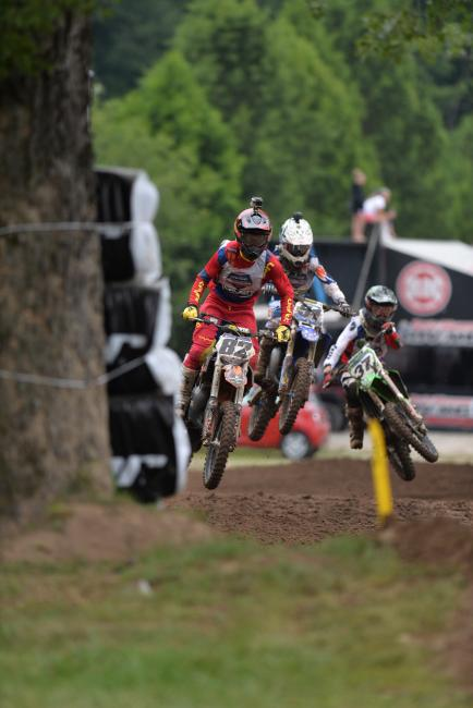 The Super Mini classes will come down to the final moto. Photo: Ken Hill