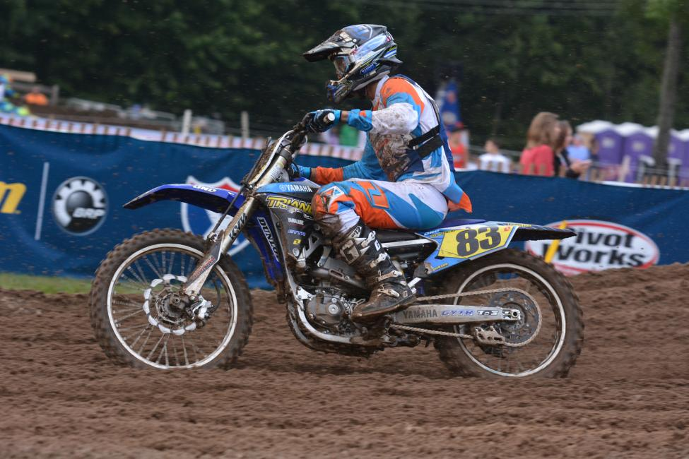 Lorenzo Locurcio finished on the podium in 250 B. Photo: Ken Hill