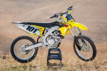 Suzuki 2015 RM-Z450 Launch