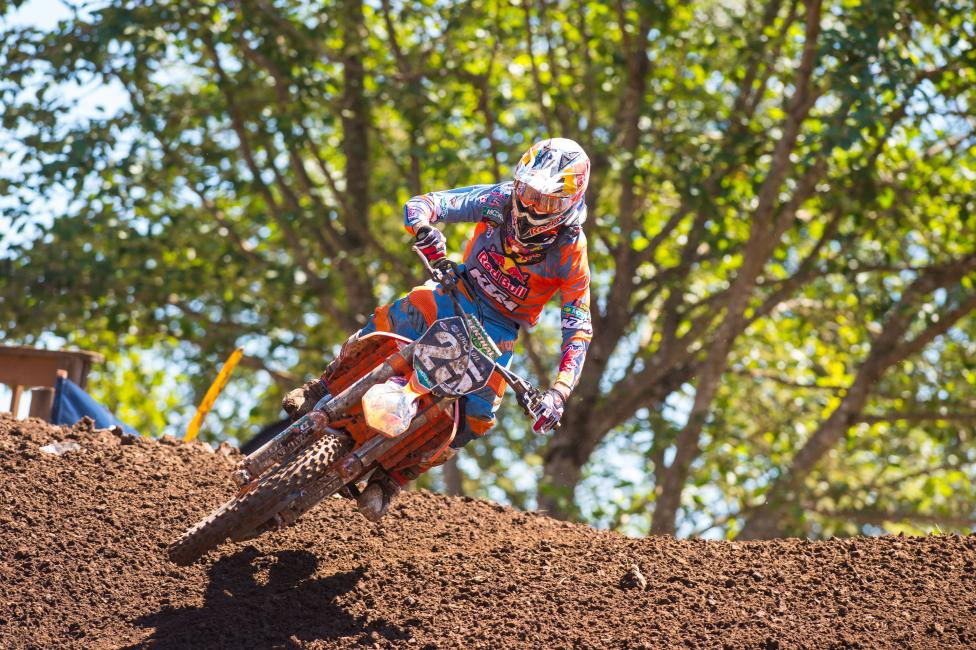 Musquin has had a successful seson so far, but Washougal was the high point. Photo: Simon Cudby