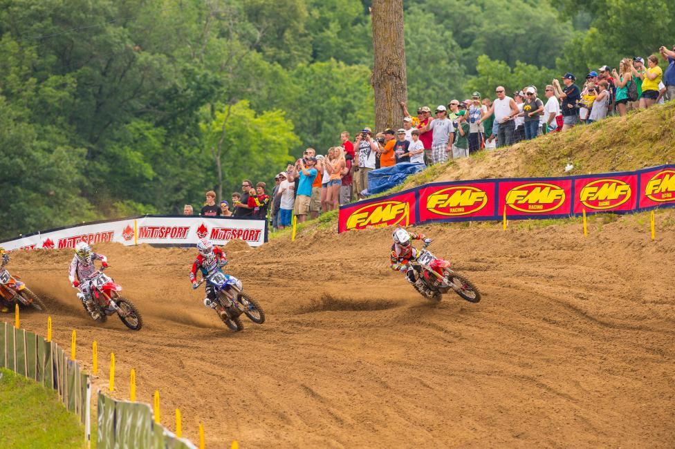 Tomac dominated at Millville, and came away with the overall. Photo: Simon Cudby