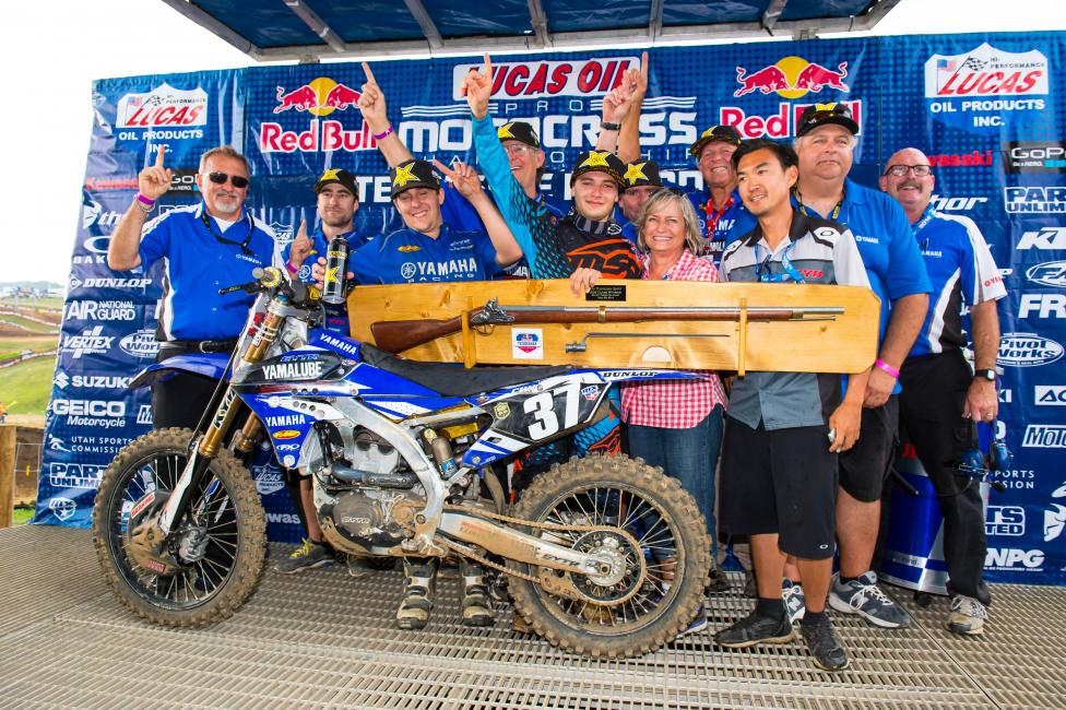 Webb battled to the death and snagged his first career national win at Muddy Creek.Photo: Simon Cudby