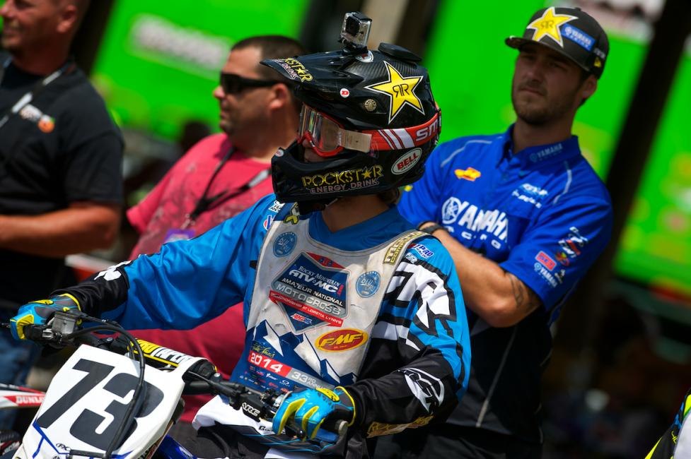 Aaron Plessinger didn't have the week he expected, instead he leaves with a broken toe.Photo: Christian Munoz
