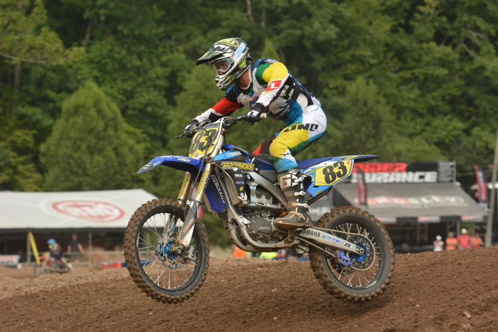 Lorenzo Locurcio won the 450 B Limited and finished second in 250 B. Photo: Ken Hill