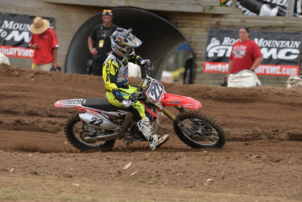 RJ Hampshire went a perfect 6-0 at Loretta's.